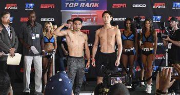 Teófimo López vs Masayoshi Nakatani (Foto: Mikey Williams / Top Rank)