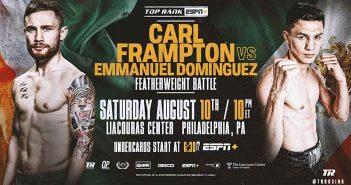 Carl Frampton vs Emmanuel Dominguez (Top Rank)