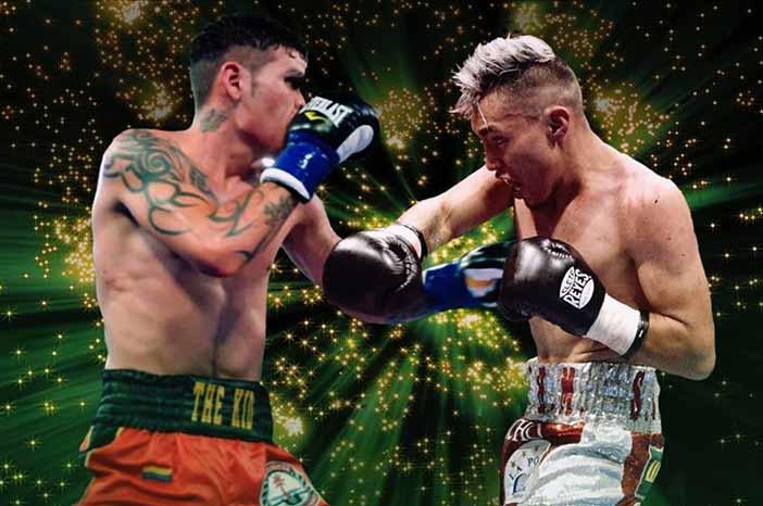 """Roger Gutiérrez vs """"Rocky"""" Hernández vs Roger Gutiérrez (Promociones del Pueblo)"""