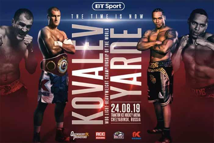 KOVALEV VS YARDE