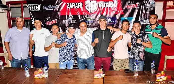 Foto: Temmy Villa, Zápari Boxing Promotions
