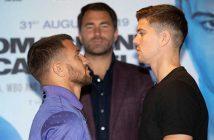 Lomachenko vs Campbell (Foto: Matchroon Boxing)