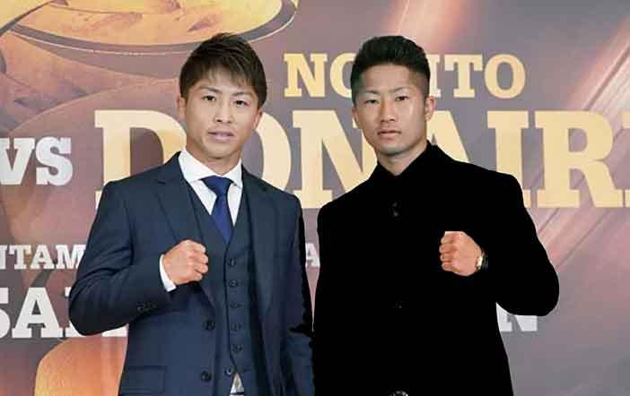 Los hermanos Inoue, Naoya y Takuma