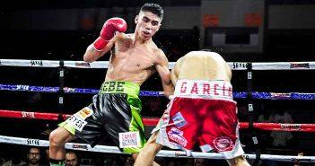 "Rubén ""Bebé"" Vega (Foto: Temmy Villa, Zápari Boxing Promotions)"