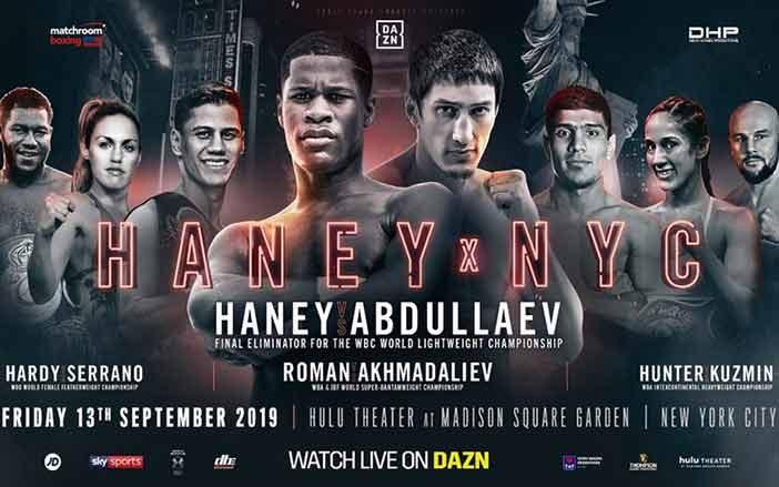 Devin Haney vs. Zaur Abdullaev
