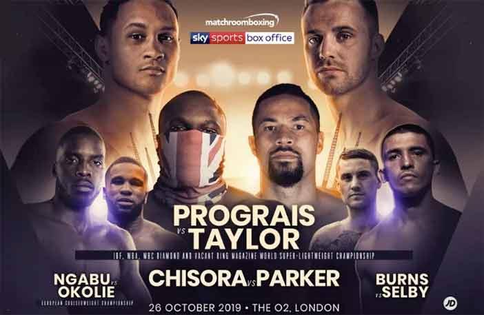 Prograis vs Taylor, Chisora vs Parker