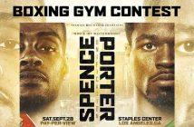 Errol Spence Jr. vs Shawn Porter (Design by Hector De La Cruz)