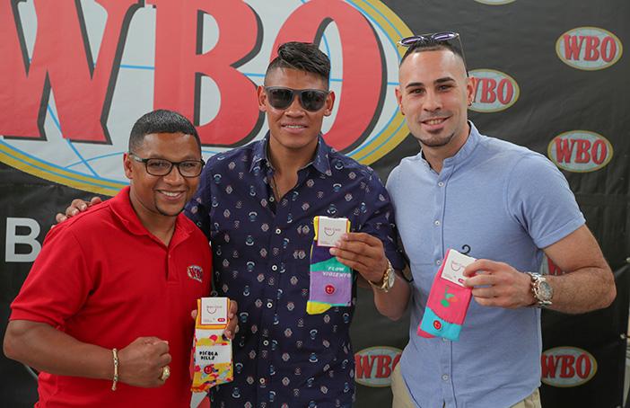 Iván Calderón, Emanuel Navarrete y José Pedraza WBO
