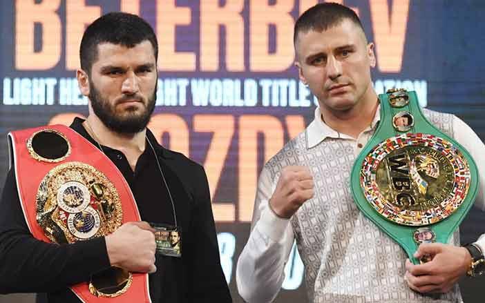 Beterbiev y Gvozdyk