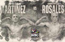 Julio César Martínez vs Crisrtoger Rosales