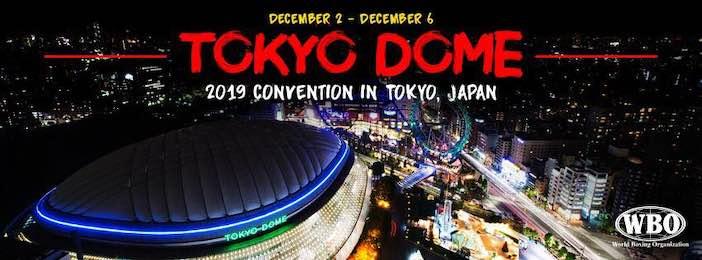 Tokio DOME WBO-OMB