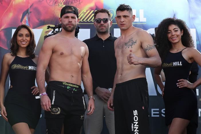 Saunders vs Cóceres (Ed Mulholland/Matchroom Boxing USA)