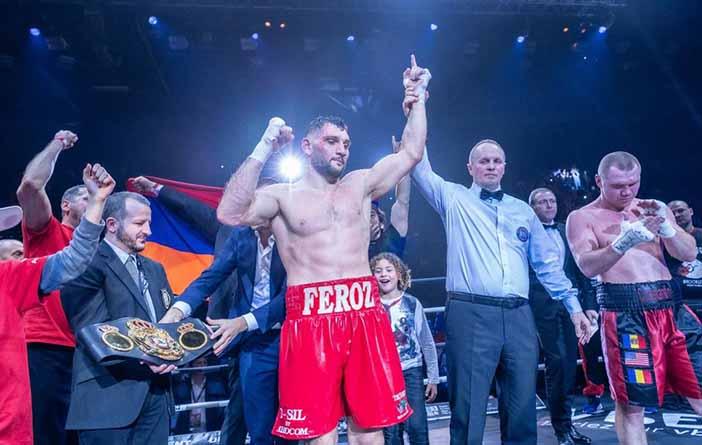 Arsen Goulamirian (Foto: Univent Boxing)