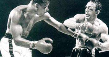 Sugar Rary Robinson vs Carmen Basilio