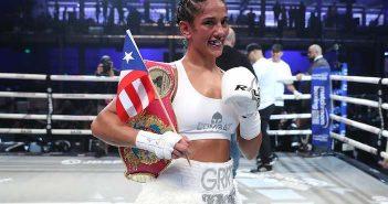 Amanda Serrano (Fotos por Ed Mulholland / Matchroom Boxing)