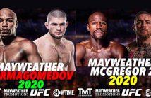 Mayweather vs. Nurmagomedov o Mayweather vs. McGregor