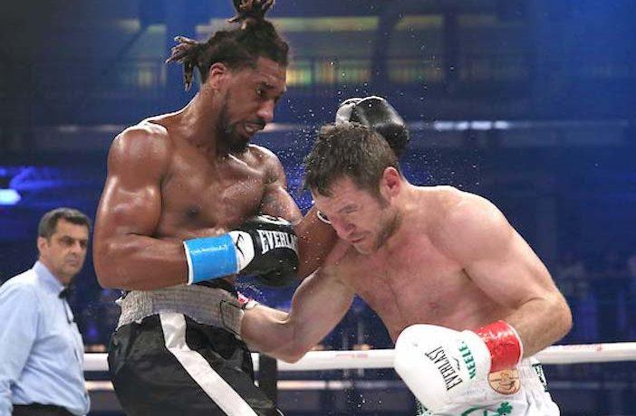 Demetrius Andrade vs Keeler (Ed Mulholland / Matchroom Boxing EE. UU.)