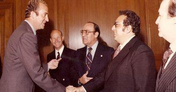 El Rey Juan Carlos I con José Sulaimán (Foto: WBC)