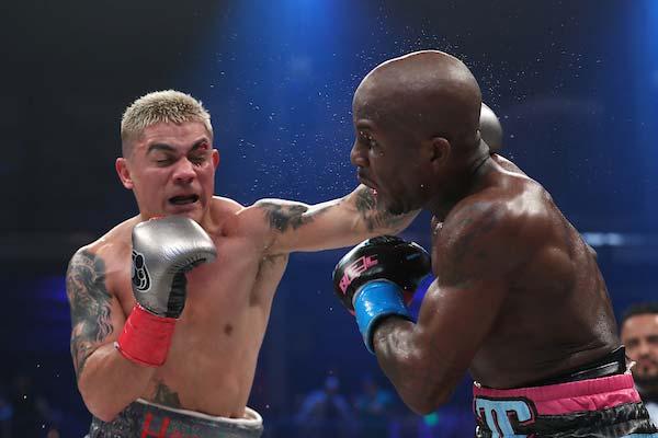 Jojo Diaz vs Tevin Farmer (Foto:Ed Mulholland / Matchroom Boxing EE. UU.)