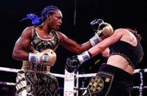 Claressa Shields vs Ivana Habazin (Foto: Stephanie Trapp / SHOWTIME)