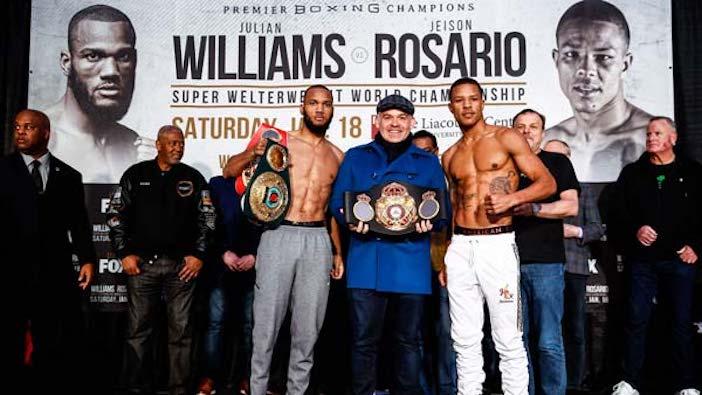 Williams vs Rosario : Promociones Stephanie Trapp / TGB