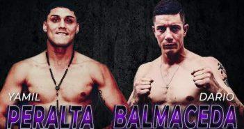 Yamil Peralta ante Darío Balmaceda
