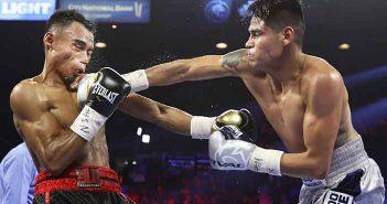 Jeo Santisima vs Emanuel Navarrete (Mikey Williams/Top Rank)