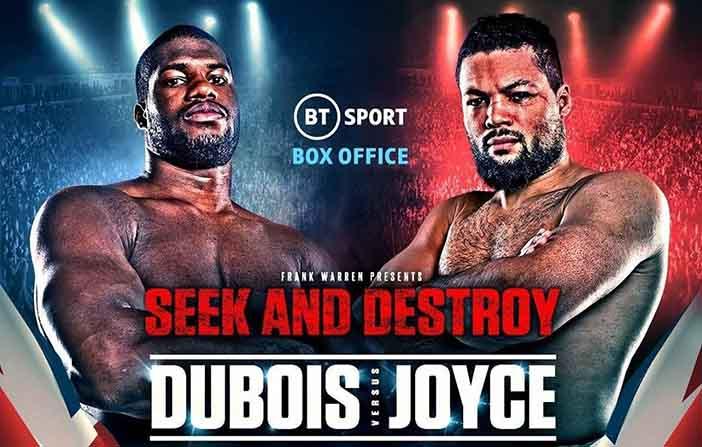 Joe Joyce vs Daniel Dubois