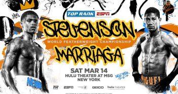 Shakur Stevenson vs Miguel Marriaga
