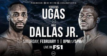 Yordenis Ugas lucha contra Mike Dallas Jr. (PBC)