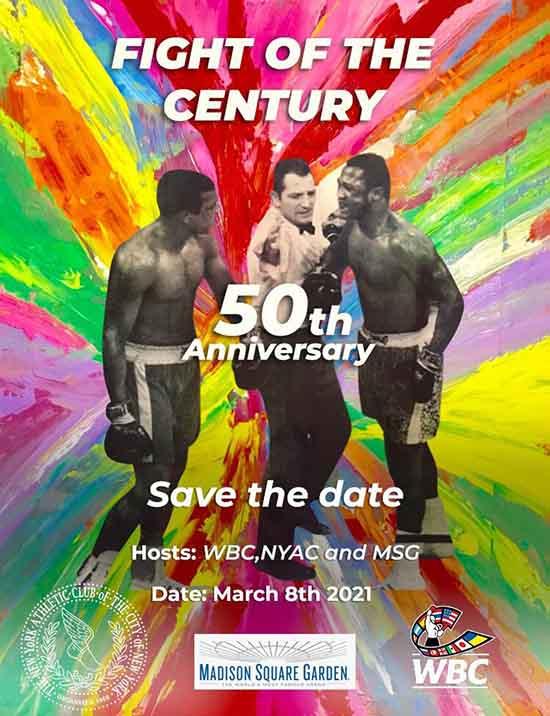 50 aniversario Ali vs Frazier CMB