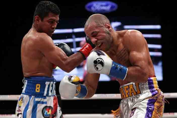 González vsKhalid Yafai (Ed Mulholland/Matchroom)