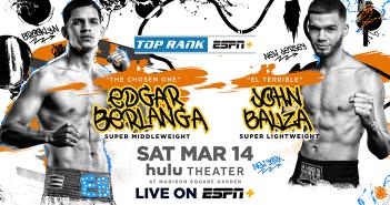 Edgar Berlanga vs John Bauza