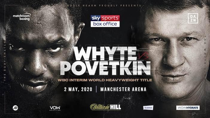Whyte vs Povetkin el 22 de agosto