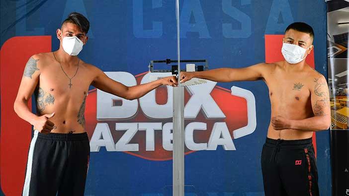 Emanuel Navarrete vs Uriel López (Fotos: Zanfer Promotions)