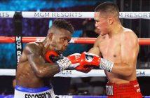 Gabriel Flores Jr. dominó a Josec Ruiz (Foto: Mikey Williams/ Top Rank)