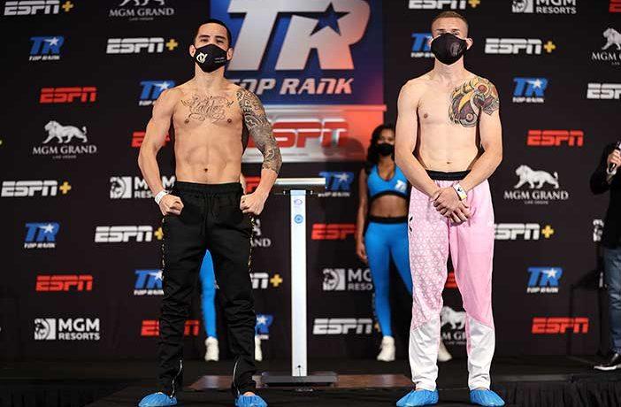 Oscar Valdez vs. Jayson Velez (Mikey Williams / Top Rank)