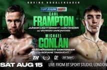 Carl Frampton y Michael Conlan