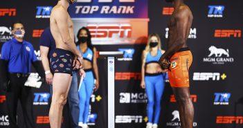José Pedraza vs. Mikkel LesPierre (Foto: Mikey Williams / Top Rank)