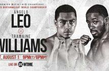 Angelo Leo vs Tramaine Williams