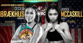 Braekhus vs. McCaskill WBC