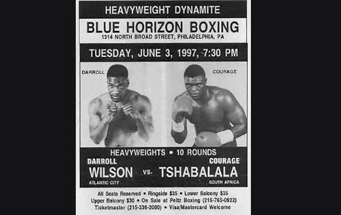 Barrol Wilson vs Tshabalala