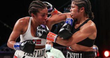 Cecilia Braekhus vs Jessica McCaskill (Ed Mulholland/Matchroom)