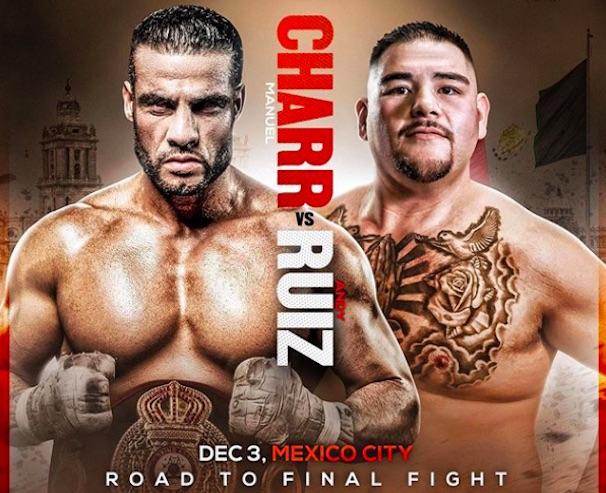 Mahmoud Charr vs Andy Ruiz