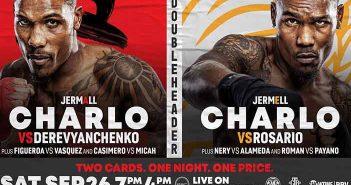 Charlo vs Derevyanchenko y Charlo vs Rosario