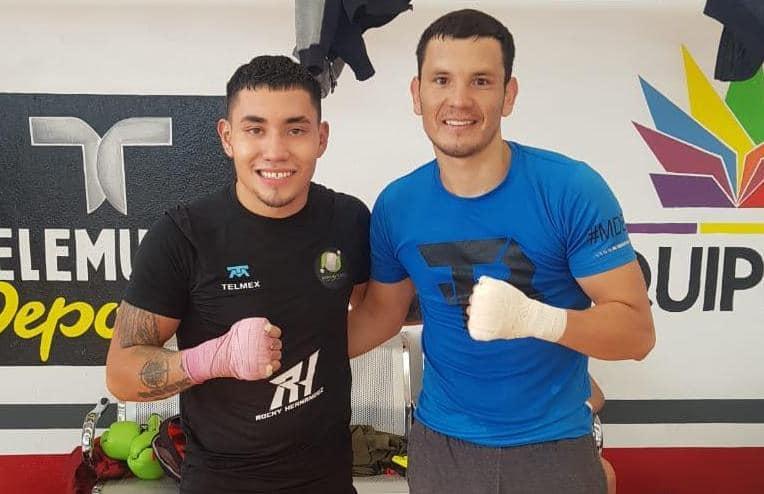 Rocky' Hernández y Bryan 'Niño Maravilla' (Promociones del Pueblo)