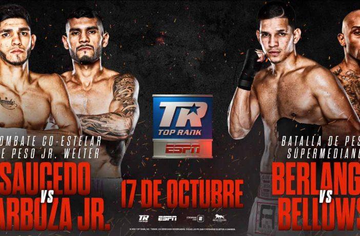 Saucedo vs. Barboza / Berlanga vs. Bellows