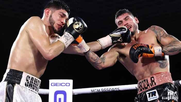 Alex Saucedo vs. Barboza (Top Rank)