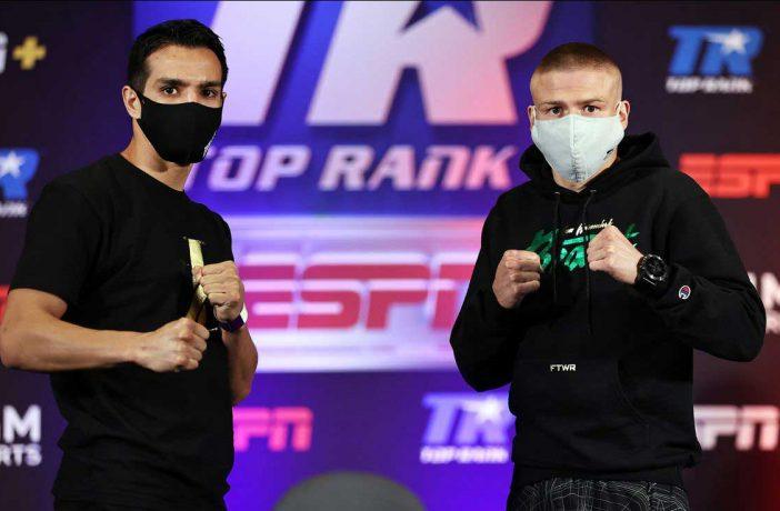 José Zepeda e Ivan Baranchyk