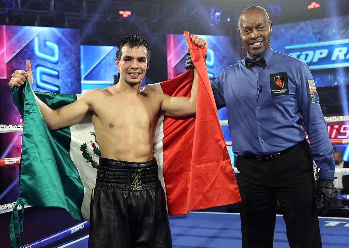 José Zepeda (Foto: Mikey Williams / Top Rank)
